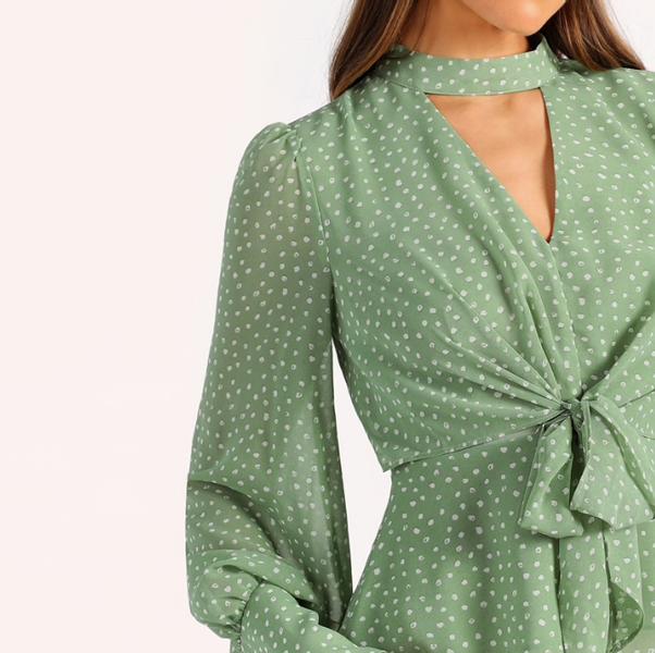 Green dotty